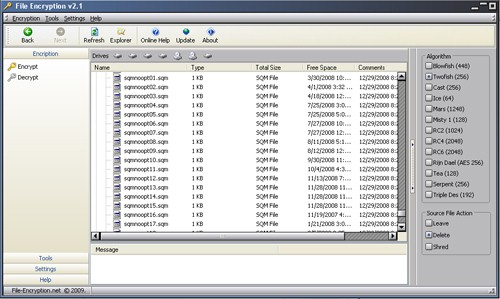 Click to view File Encryption screenshots